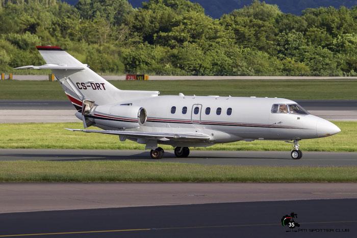 CS-DRT BAe125-800XPi 258802 NetJets Europe @ Manchester Airport 21.06.2015 © Piti Spotter Club Verona