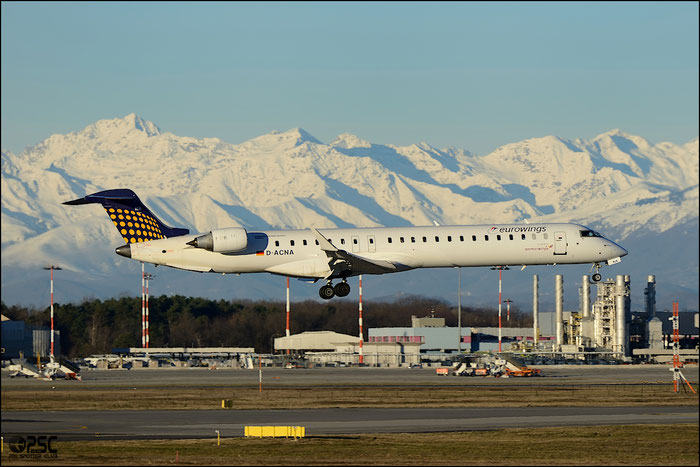 D-ACNA CRJ900LR 15229 Eurowings @ Milano Malpensa Airport 25.01.2014 © Piti Spotter Club Verona