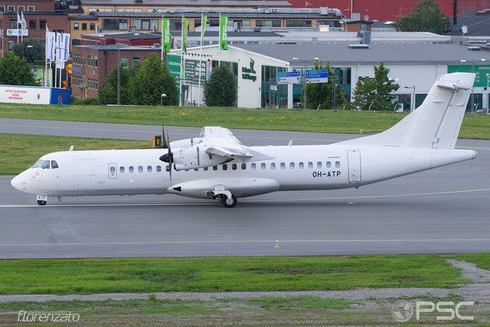 OH-ATP ATR72-212A 1050 Nordic Regional Airlines @ Stockholm Bromma Airport 19.08.2016 © Piti Spotter Club Verona