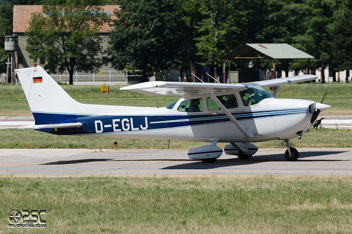 D-EGLJ Cessna 172P Skyhawk C172 17276144 @ Aeroporto di Bolzano © Piti Spotter Club Verona