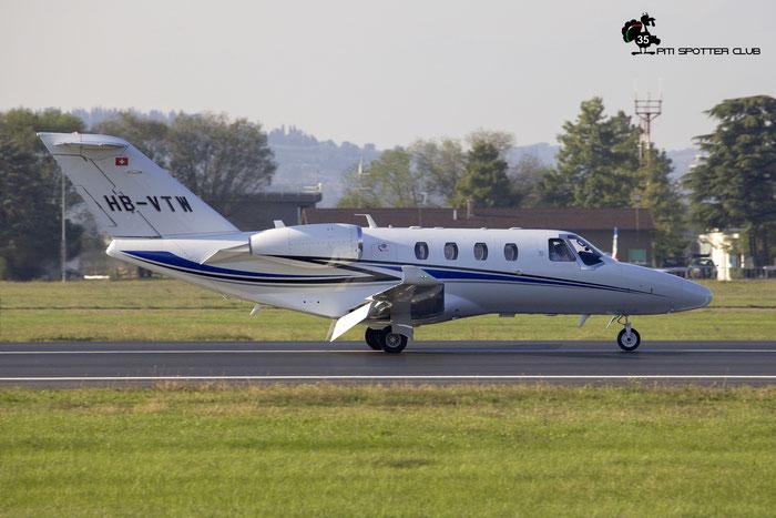 HB-VTW  Ce525 (M2)  525-1044  Transwing Ltd. @ Aeroporto di Verona 16.10.2021 © Piti Spotter Club Verona