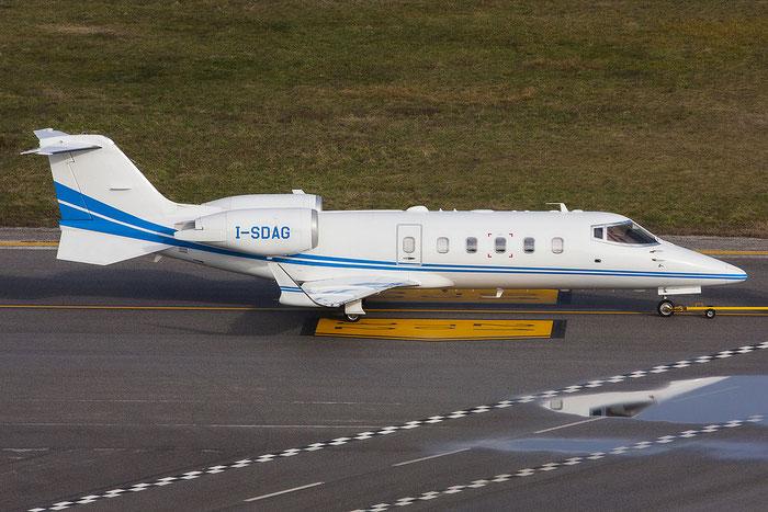 I-SDAG Learjet 60XR 60-379 Eurofly Service @ Trieste Airport 03.01.2013 © Piti Spotter Club Verona