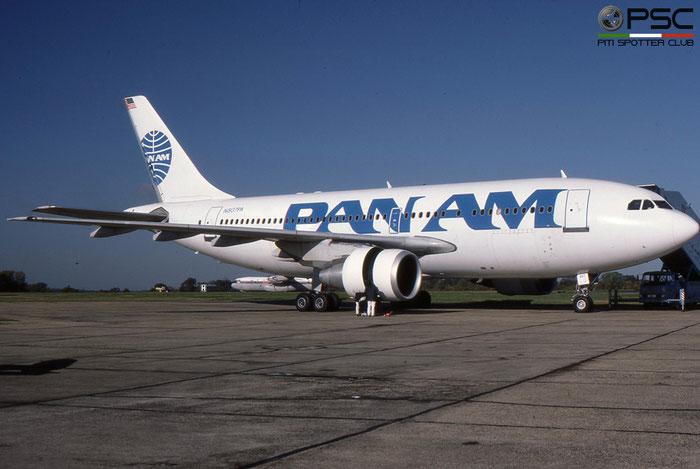 N807PA A310-222 346 Pan Am - Pan American World Airways © 2018 courtesy of Marco Ceschi - Piti Spotter Club Verona