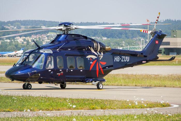 HB-ZUU AgustaWestland AW-139 A139 31152 - Swiss Jet AG, Zuerich @ Zurich Airport 20.07.2013 © Piti Spotter Club Verona