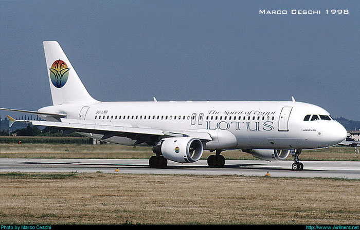 SU-LBB A320-212 814 Lotus Air @ Aeroporto di Verona © Piti Spotter Club Verona