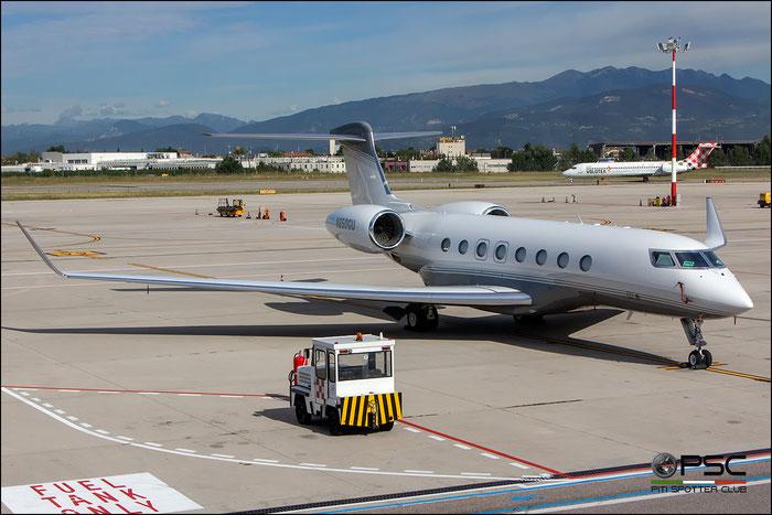 N650GU G650 6067 MPM Financial LLC @ Aeroporto di Verona - 20/09/2016 © Piti Spotter Club Verona