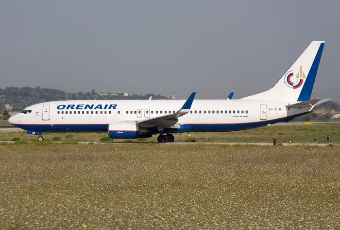 VQ-BLW B737-85P 28381/250 Orenair - Orenburg Airlines @ Rimini Airport 20.08.2011 © Piti Spotter Club Verona
