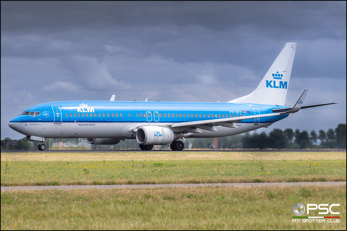 PH-BXY  B737-8K2  30372/2503  KLM Royal Dutch Airlines @ Amsterdam 2019 © Piti Spotter Club Verona