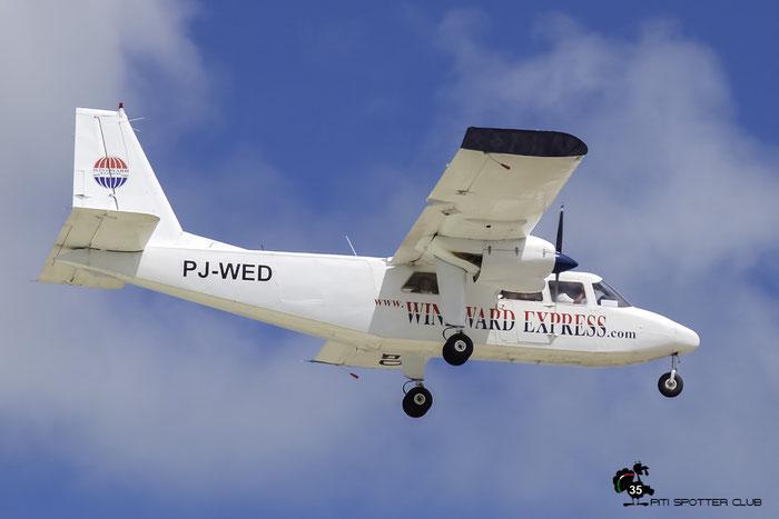 PJ-WED BN-2B-26 2153 Windward Express Airways @ Sint Maarten Airport 05.03.2016 © Piti Spotter Club Verona