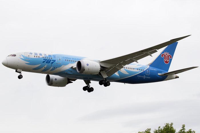 B-2736 B787-8 34929/100 China Southern Airlines @ London Heathrow Airport 09.07.2016 © Piti Spotter Club Verona