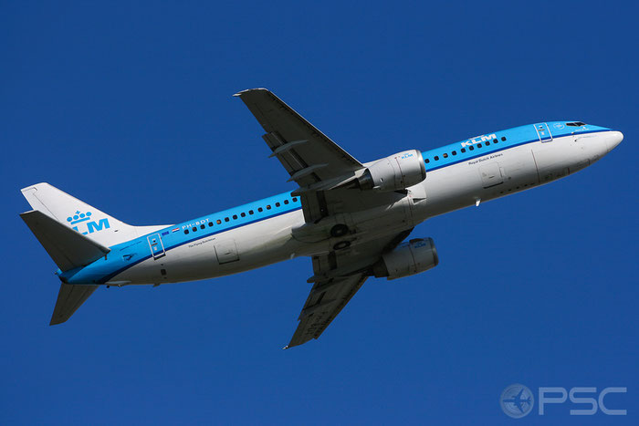 PH-BTD B737-306 27420/2406 KLM Royal Dutch Airlines @ Amsterdam Airport 07.2008  © Piti Spotter Club Verona