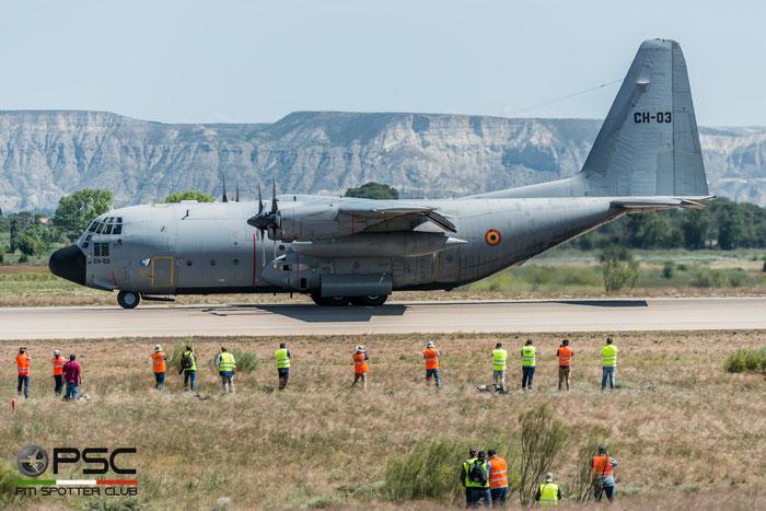 CH03   C-130H  4461  Brussel © Piti Spotter Club Verona