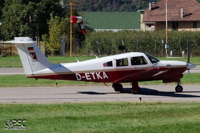 D-ETKA - Private - Piper PA-28R Arrow / RT Turbo Arrow @ Aeroporto di Bolzano © Piti Spotter Club Verona