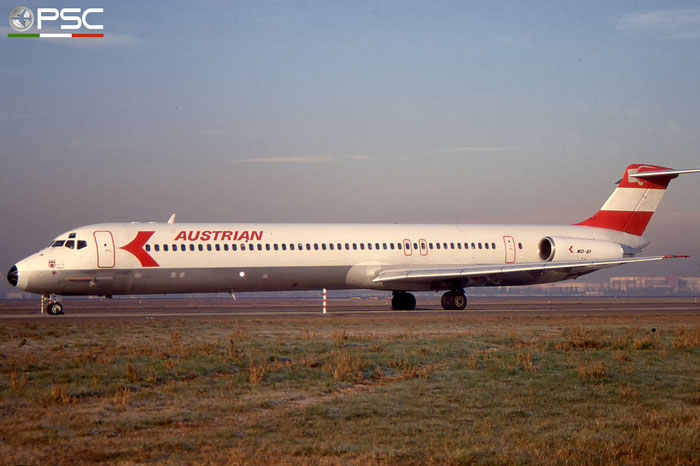 OE-LMC MD-82 49372/1252 Austrian Airlines © 2018 courtesy of Marco Ceschi - Piti Spotter Club Verona