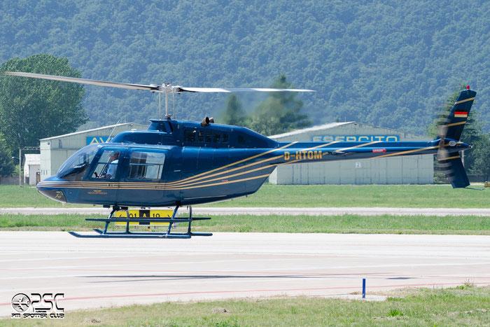 D-HTOM Bell 206B-3 JetRanger 3 B06 H1T @ Aeroporto di Bolzano © Piti Spotter Club