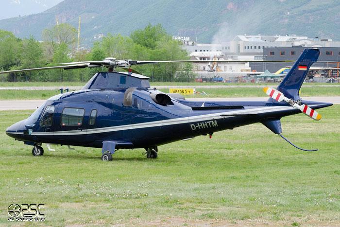 D-HHTM - HTM - Helicopter Travel Munich Agusta A-109E Power @ Aeroporto di Bolzano © Piti Spotter Club Verona