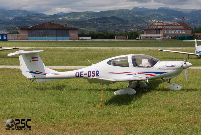 OE-DSR Diamond Aircraft Industries DA-40 DA40 40.394 @ Aeroporto Verona Boscomantico © Piti Spotter Club Verona