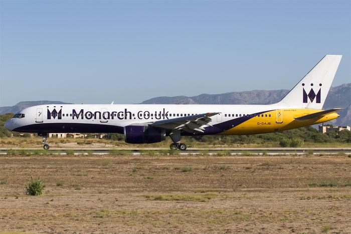 G-DAJB B757-2T7ER 23770/125 Monarch Airlines @ Palma de Mallorca Airport 07.2014 © Piti Spotter Club Verona