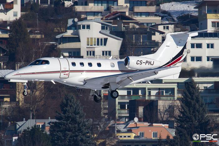 CS-PHJ EMB505 50500336 NetJets @ Innsbruck Airport 27.01.2018 © Piti Spotter Club Verona