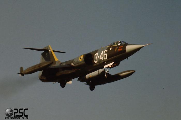 Gli F-104 del Terzo Stormo: 3-46 -  @ Aeroporto di Verona   © Piti Spotter Club Verona