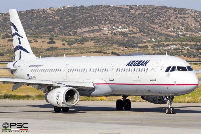 SX-DVZ  A321-231  3820  Aegean Airlines @ Athens 2019 © Piti Spotter Club Verona