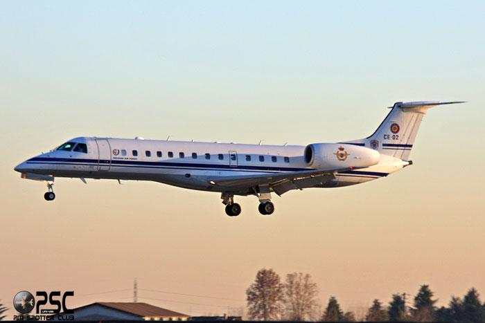 CE02 ERJ135LR 145480 21sm @ Aeroporto di Verona © Piti Spotter Club Verona