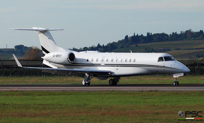 G-SPCY ERJ135BJ 14501162 Luxaviation UK @ Aeroporto di Verona 11.2019  © Piti Spotter Club Verona