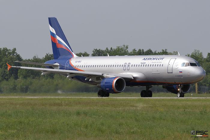 VQ-BKS A320-214 4692 Aeroflot @ Milano Malpensa Airport 05.05.2018 © Piti Spotter Club Verona