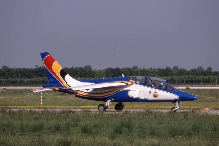 AT25   Alpha Jet 1B+  B25/1110 @ Aeroporto di Verona   © Piti Spotter Club Verona