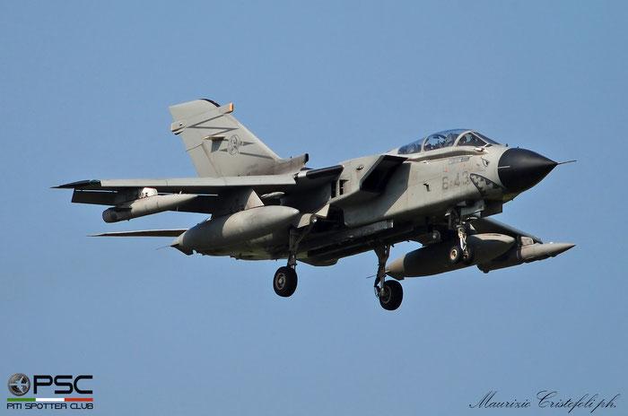 MM7066  6-43  Tornado ECR MLU RET8  520/ECR../5077  155° Gruppo @ Aeroporto di Verona 2021 © Piti Spotter Club Verona
