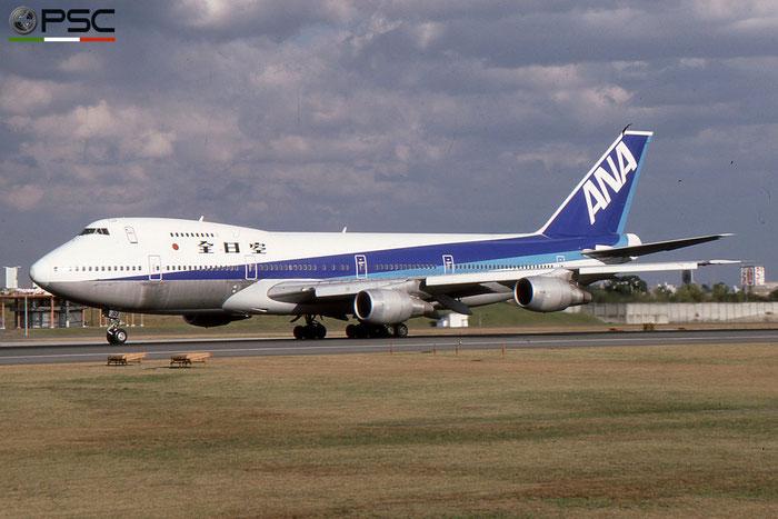 JA8133 B747SR-81 21604/346 ANA - All Nippon Airways © 2018 courtesy of Marco Ceschi - Piti Spotter Club Verona