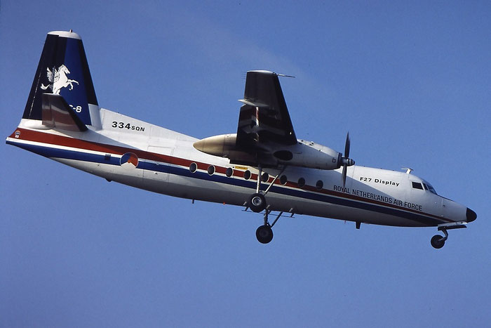 U-05   Fokker 50  20253 @ Aeroporto di Verona   © Piti Spotter Club Verona