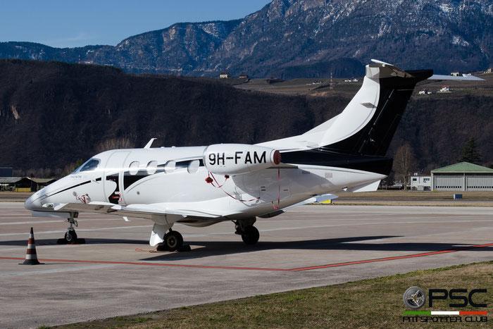 9H-FAM EMB500 50000100 Luxwing Ltd. @ Aeroporto di Bolzano © Piti Spotter Club Verona