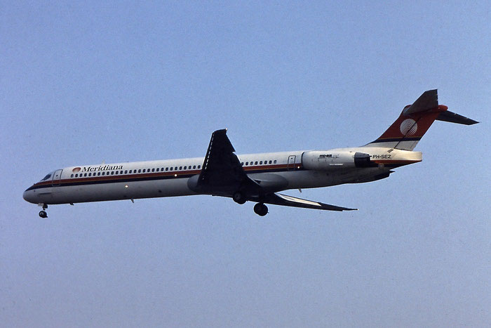 PH-SEZ  MD-82  49903/1949  Meridiana  @ Aeroporto di Verona © Piti Spotter Club Verona
