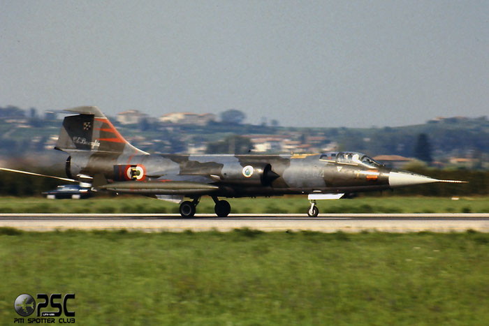 Gli F-104 del Terzo Stormo: 3-04 -  @ Aeroporto di Verona   © Piti Spotter Club Verona