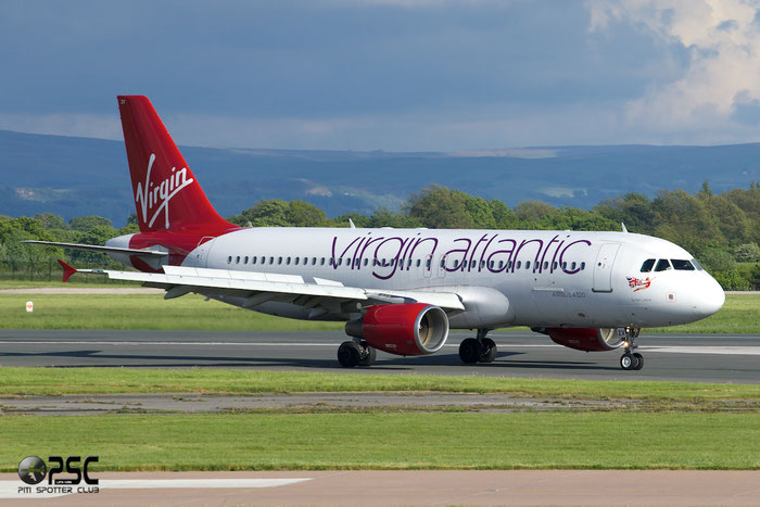 EI-EZV A320-214 2001 Virgin Atlantic Airways @ Manchester Airport 13.05.2014 © Piti Spotter Club Verona