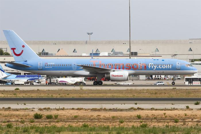 G-BYAT B757-204 27208/606 Thomson Airways @ Palma de Mallorca Airport 07.2014  © Piti Spotter Club Verona