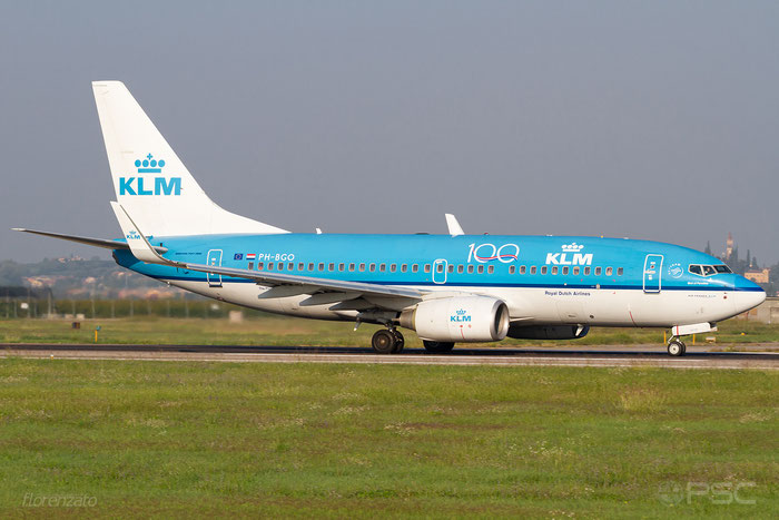 PH-BGO B737-7K2 38126/3590 KLM Royal Dutch Airlines @ Aeroporto di Verona 10.2019  © Piti Spotter Club Verona