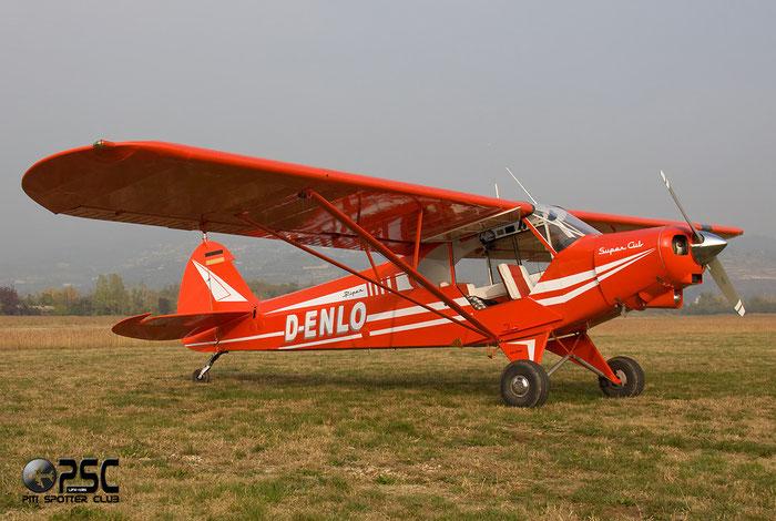 D-ENLO - Piper PA-18 Super Cub @ Aeroporto Verona Boscomantico © Piti Spotter Club Verona