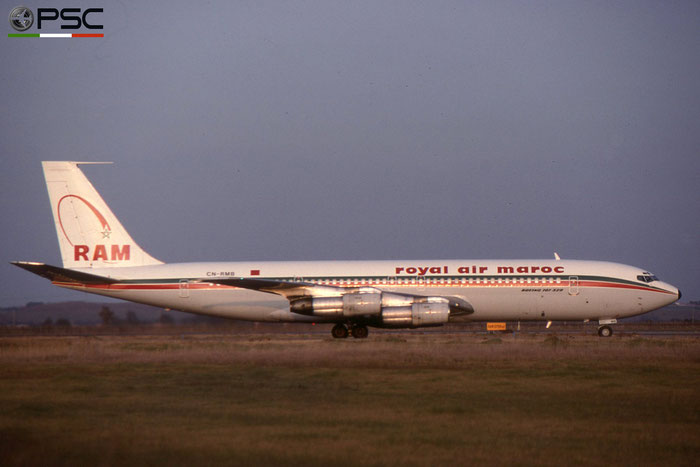 CN-RMB B707-351C 19773/705 Royal Air Maroc © 2018 courtesy of Marco Ceschi - Piti Spotter Club Verona