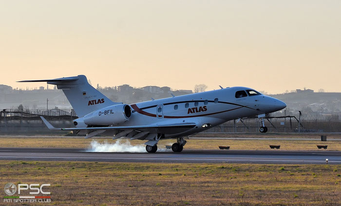 D-BFIL EMB545 55010015 Atlas Air Service @ Aeroporto di Verona 04.2019  © Piti Spotter Club Verona