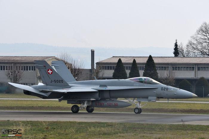 J-5020   F/A-18C-49-MC  1369/SFC020 © Piti Spotter Club Verona