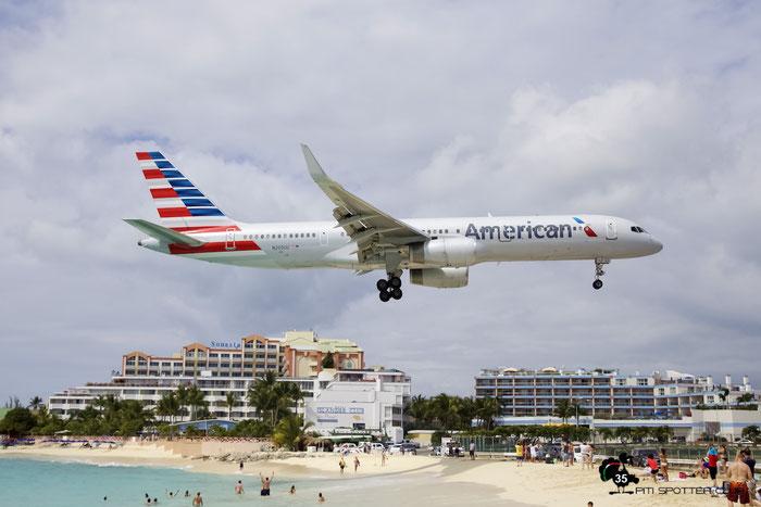 N200UU B757-2B7 27809/673 American Airlines @ Sint Maarten Airport 05.03.2016 © Piti Spotter Club Verona
