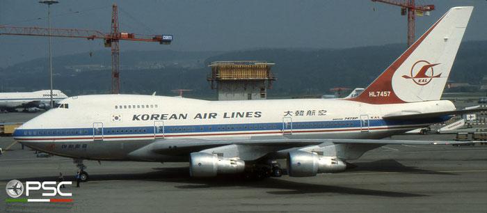 HL7457 B747SP-B5 22484/507 Korean Air © 2018 courtesy of Marco Ceschi - Piti Spotter Club Verona