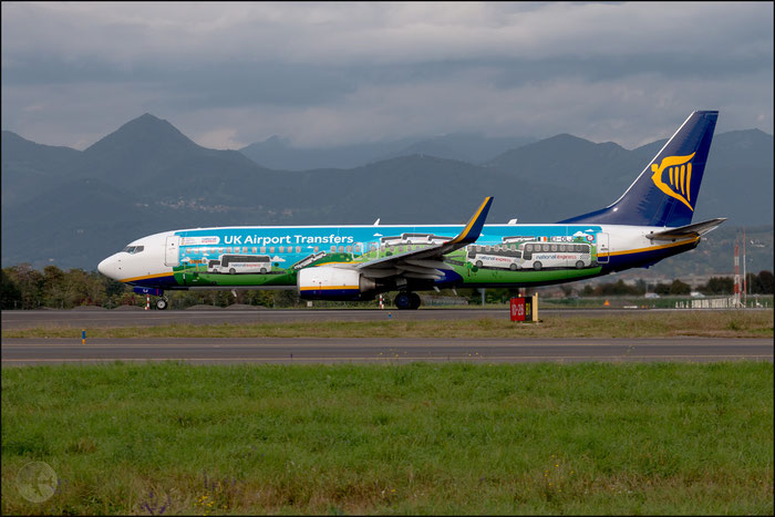 EI-DLJ B737-8AS 34177/1899 Ryanair @ Bologna Airport 14.10.2014 © Piti Spotter Club Verona