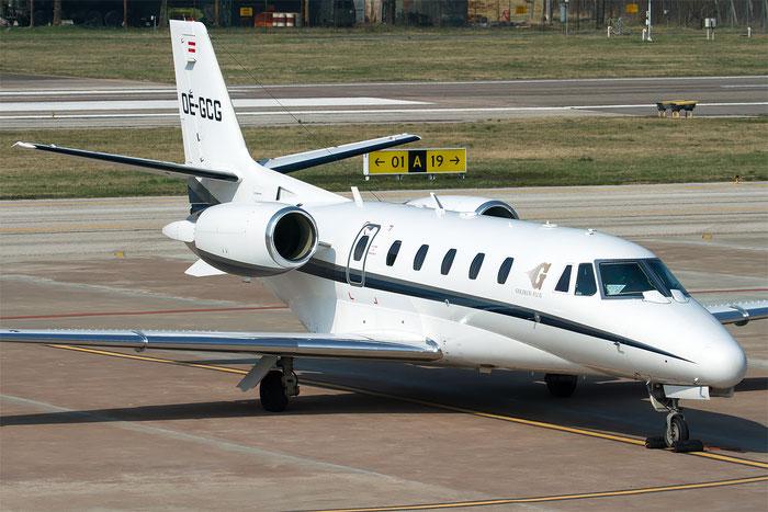 OE-GCG Ce560XL 560-5316 Goldeck-Flug GmbH @ Aeroporto di Bolzano © Piti Spotter Club Verona
