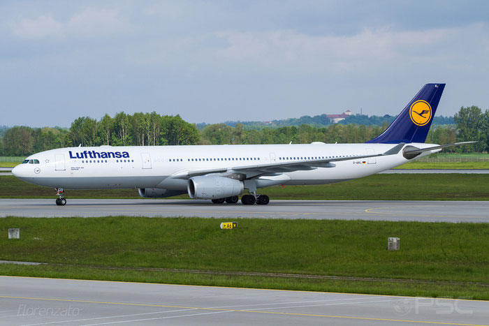 D-AIKL A330-343E 905 Lufthansa @ Munich Airport 15.05.2016 © Piti Spotter Club Verona