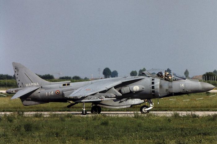 MM7220  1-14  AV-8B-22-MC+  IT009  Gruppo Aerei I @ Aeroporto di Verona   © Piti Spotter Club Verona
