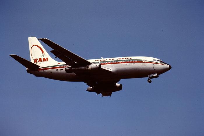 CN-RMK  B737-2B6  21216/456  Royal Air Maroc  @ Aeroporto di Verona © Piti Spotter Club Verona