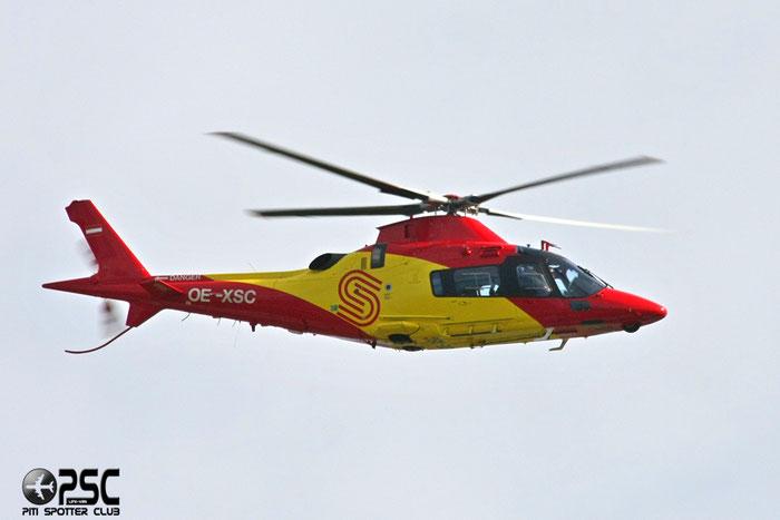 OE-XSC Airline: Schenk Air Aircraft: Agusta A109E Power @ Aeroporto di Verona © Piti Spotter Club Verona